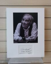 More details for max wall autograph signed and mounted