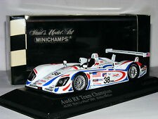 Minichamps Audi R8 Champion Racing 2001 Petit Le Mans #38 LTD ED 1/43