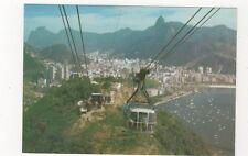Brazil Rio De Janeiro Panorama Morro da Urca e Botafogo Postcard 781a