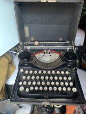 vintage Portable underwood typewriter With Original Box