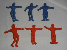 Lot of 6 Super Stretchy Men-Cracker Jack Prizes or Vending Gumball Machine ??-5S