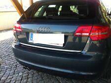 Audi A3 Sportback 8PA - Chrom Zierleiste Heckleiste Heckklappe 3M Chromleiste
