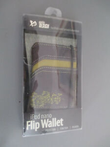 Ipod Nano Flip Wallet For Ipod Nano First & Second Generation Pacific Design NEW