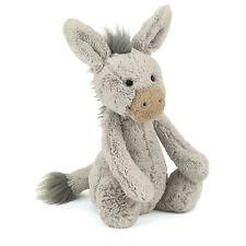 Jellycat Bashful Donkey Medium 31cm Plush Super Soft Teddy