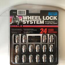 5 12mmx1.5 73631TBCB-5 Black,Toyota Factory Style Gorilla Wheel Locks