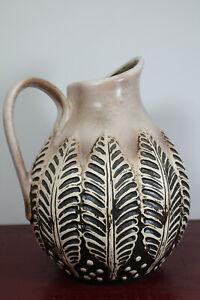 Vintage 70er Vase Mug Large Vase Ceramics Duemler & Breiden German Pottery