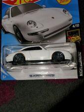 2019 Hot Wheels '96 Porsche Carrera White