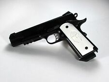 1911 Grips Full Size Ambi Safety Spartan White Colt Kimber Springfield