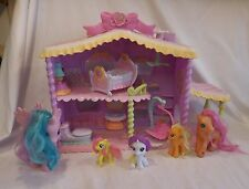 My Little Pony Newborn Cuties Playset LIGHTS AND SOUNDS plus Accessories 5 Ponys