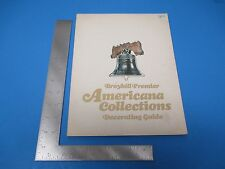 Broyhill Premier Americana Collections Decorating Guide Book 1975 L083