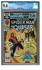 Marvel Team-Up #113 (1982) Bronze Age Lightmaster Quasar CGC 9.6 FF478