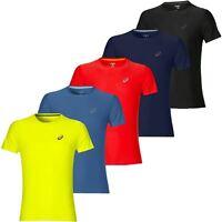 Asics MotionDry Lightweight SS T-Shirt Running Top Mens Sports Tee