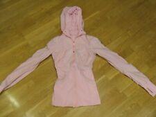 LULULEMON Womens Reversible Zip Up Dance Studio Jacket/Hoodie, Size 2, Pink