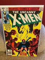 Uncanny X-Men #134 VF Newsstand 1st Hellfire Club Dark Phoenix