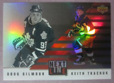 1993-94 Upper Deck Next In Line #NL5 Doug Gilmour and Keith Tkachuk SP