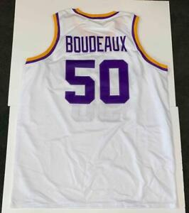 Neon Boudeaux Jersey Custom Unsigned Stitched Blue Chips Movie Shaq Jersey SZ XL