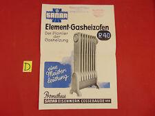 Sonstige Sonstige Sanar Der Neue Prometheus Element-gasheizofen R 40 Ca.30x21cm.