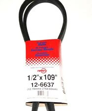 """6637 Rotary Deck Belt Compatible With MTD 954-04045 & Toro 112-5800 (1/2""""x109"""")"""