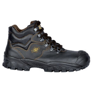 Reno Safety Boots by Cofra With Steel Toe Caps & Midsole Scuff Caps, Size 5-12
