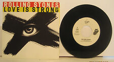 """Rolling Stones """"Love is Strong"""" 45rpm w/ PS NM Store Stock 3 tracks 1 non-LP"""