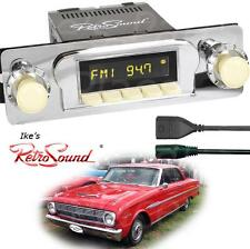 RetroSound 60-63 Falcon/Ranchero Hermosa-IV Radio/Bluetooth/RDS/USB/3.5mm AUX-In