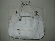 Grand sac à mains / cabas à bandoulière CHLOE en cuir blanc Bon état !