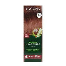 (10,63 EUR/100 ml) Logona Pflanzenhaarfarbe Color Creme 220 Weinrot 150 ml