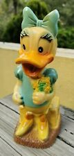 VTG MEXICAN WALT DISNEY DAISY DUCK VINILOS ROMAY MEXICAN COIN BANK MEXICO