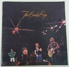 New listing Vintage 1975 The Beach Boys Tour Concert Book Program w Ticket Stub Brian Wilson