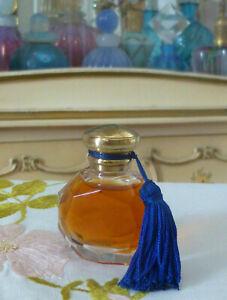 VTG 1980s AVON FACETS Real Perfume Splash 0.25 Oz 7.5ml w Blue Tassel
