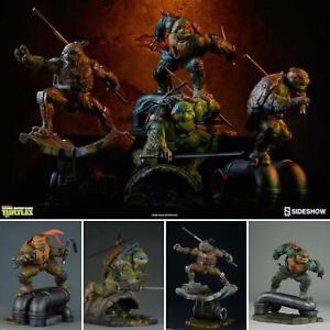 Teenage Mutant Ninja Turtles Leonardo Michelangelo Donatello Raffaello Sideshow