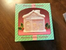 1994 Enesco Precious Moments Porcelain General Store Night Light New in Box#0250