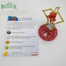 Heroclix Amazing Spider-Man set Iron Spider #056 Chase figure w/card!