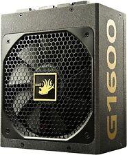 LEPA G Series 1600W 80+ Gold Certified Full Modular Power Supply - Open Box