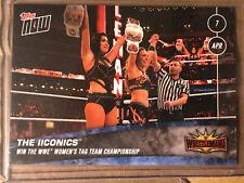 2019 Topps NOW WWE #15 The IIconics ~ WrestleMania 35 ~ PR 211
