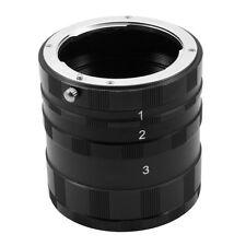 Macro Extension Tube Ring F PK Pentax K Kx K200D K100D K20D DSLR SLR Camera Lens