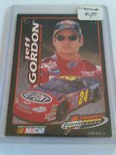 2001 Press Pass Gatorade Front Runner Award #3 Jeff Gordon