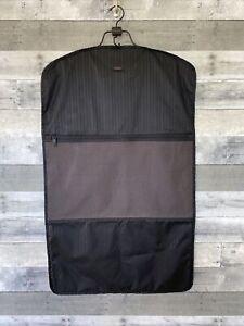 TUMI Black Nylon Suit Carrier Cover Dress or Suit Bag