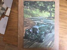 New listing Vintage Bentley YW 5758 At Prescott Print By Michael Turner 1966