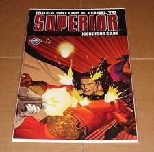 Superior #4 Leinil Yu Variant Edition 1st Print Mark Millar