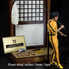 EB Enterbay 1/6 Bruce Lee 75th eb Anniversary  GAME OF DEATH Figure in stock