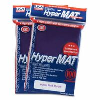 Hyper Mat Sleeves (100ct) - Purple - KMC Gaming Supply - Tournament Specs