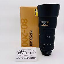 Nikon AF-D 80-200mm F2.8 D ED Obiettivo Zoom Usato