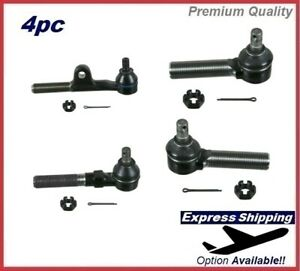 Premium Tie Rod End SET Inner&Outer For LEXUS Kit ES3549,ES3550 ES3543,ES3544