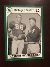 1990 Michigan State Spartans Collegiate Collection #47 - Williams and Daugherty