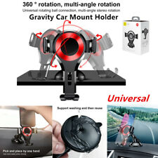 Universal 360° Gravity Car Truck Mount Holder Cradle For Mobile Phone GPS