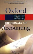 A Dictionary of Accounting (Oxford Paperback Reference),Gary Owen, Jonathan Law