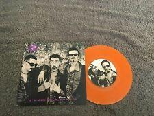 """Therapy-Stories.7"""" orange vinyl."""