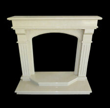 Frame Fireplace Fireplace White Marble Classic Old Fireplace Marble Frame Top