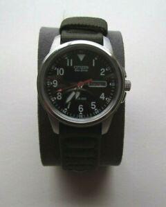 CITIZEN MEN'S ECO-DRIVE WR100 BM8180-03E - E101-S006597 GREEN STRAP